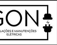 Logo GON Instalações e Manutenções Elétricas