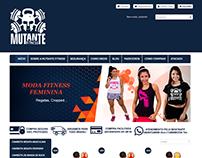 Loja Virtual Mutante Fitness