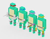 TMNT 3D Model