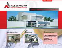 Desenvolvimento Site Alessandro Souza