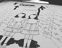 """Ilustração Twins """"The Shining"""""""