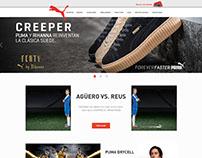 Puma Website Panamá (Strapp Inc)