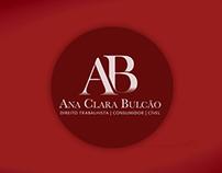 Logo e Papelaria: Ana Bulcão - Advogada