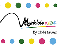 Mezklote Kids - Rebranding & Label design