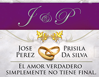 Boda (Wedding) Poster and Label (Venezuela)