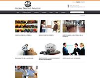 Sitio Web Bilingue Global Trading Paradise