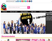 Tiendas Mediaset (Telecinco, Cuatro, etc)