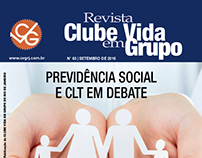 Revisão da Revista CVG (amostra espelhada)