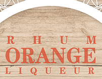 Rhum Orange- Flyer y Stand