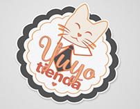 Yuyo Tienda - Logo y tarjetas de presentación