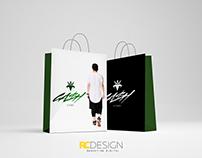 Branding Loja Cash Store #Logo #Design #Bag #TShirt