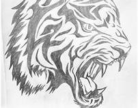 Desenho a mão livre \ Tatuagem