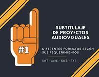 Subtítulos para tus audiovisuales