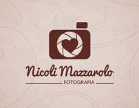 Identidade Visual Nicoli Mazzarolo Fotografia