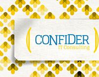 Cartão de fim de ano - Confider