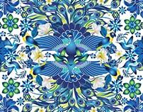 Ilustración BLUE PEACOCK