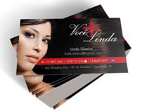 Cartão de Visita - Você mais Linda