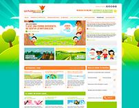 Proyecto web realizado para granja escuela infantil.
