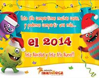 tarjeta fin de año-Estación Mandioca