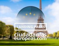 Ciudadaniaseuropeas.com - Landing Pages