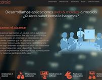 Pagina web - Abcdroid