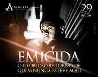 Brazilian rock party flyers