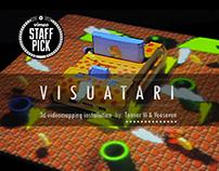 VISUATARI | 3d Video Mapping Installation