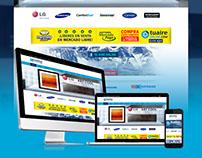 Desarrollo de sitio web www.tuaireonline.com