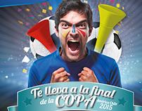 VIAJA A LA FINAL DE LA COPA AMÉRICA CHILE 2015