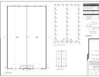 Projeto Galpão Industrial 2.000m²