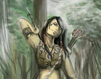 Caçadora
