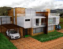 Conjunto Santa Ana II - Diseño 3D