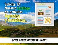 Catálogo artículos agrícolas.