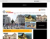 Portal de Turismo CANATUR - Rediseño de sitio web