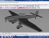 """""""Stuka"""" Avión Alemán de la 2da Guerra Mundial"""