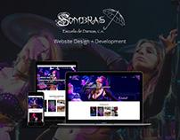 Sombras Army - Website Design + Development