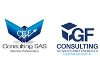 Caso de estudio CGF Consulting Re Diseño de logotipo