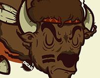 Apache Buffalo Spirit