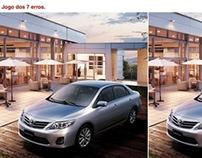 Anúncio página dupla: Toyota.