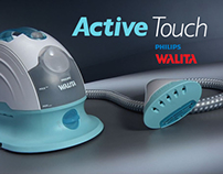 Projeto gráfico Active Touch - PHILIPS WALITA