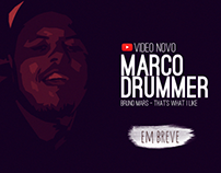 Canal do Youtube Marco Drummer - Arte Digital