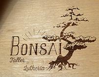 Bongós de madera Pintados para Bonsai
