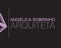 """Cartão e Símbolo """"Angélica Sobrinho - Arquiteta"""""""