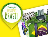 Redação - Campanha Destino Brasil - Premier Turismo