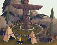 Island Worlds. The Totem