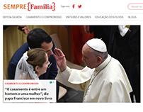 Sempre Família website