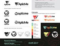 'Aplicme' - Projeto de logotipo e Identidade Visual