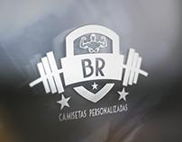 Logo BR Camisetas Personalizadas