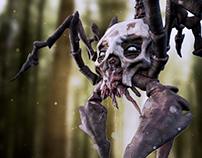 Spideron - 3D Creature for games