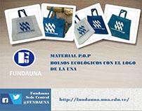 Publicidad Bolsos Ecológicos para FUNDAUNA